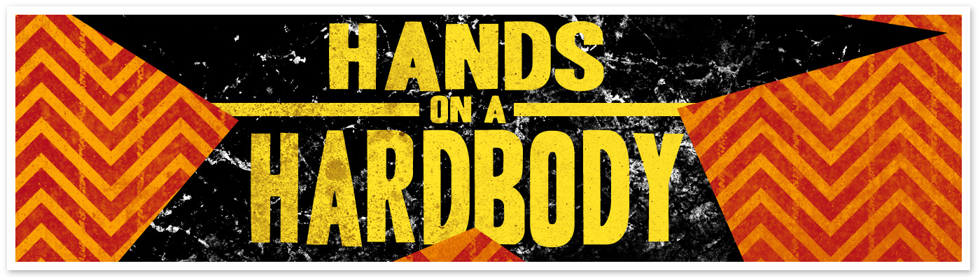 Hands on a Hard Body Logo